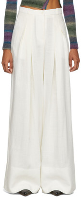 Jacquemus Off-White Le Pantalon Avignon Trousers