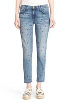Current/Elliott Women's 'The Stiletto' Star Print Skinny Jeans