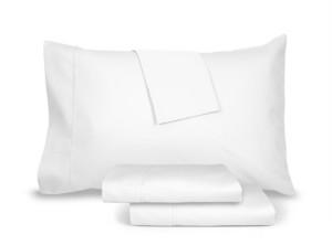 Aq Textiles Burlington Queen Sheet Set, 1800 Thread Count Bedding