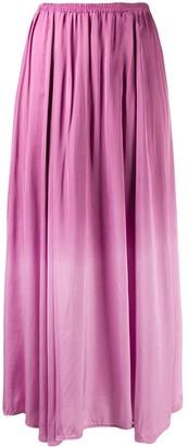 Forte Forte Gradient Pleated Midi Skirt