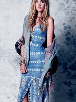 Free People Washed Out Textured Maxi