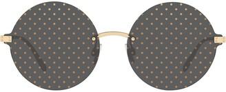 Dolce & Gabbana Eyewear Dotted sunglasses