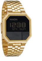 Nixon The Re-run Watch Gold