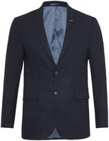 Oxford Larkin Checked Blazer Blue X