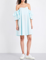 Claudie Pierlot Rackam off-the-shoulder cotton dress