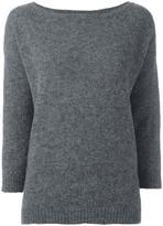 Societe Anonyme oversized jumper - women - Polyamide/Wool/Alpaca - 3