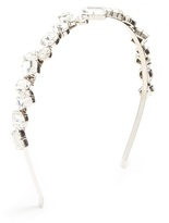 Miu Miu Crystal-embellished headband