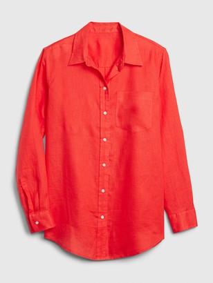 Gap Boyfriend Shirt in Linen