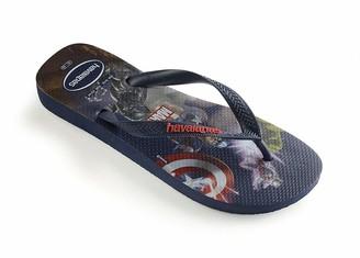 Havaianas Unisex's Top Marvel Groot Flip Flop Sandal