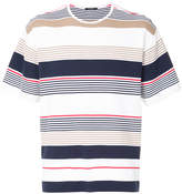 GUILD PRIME striped knitted top
