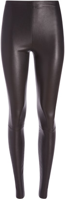 Alice + Olivia Maddox Side Zip Leather Legging