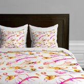 Deny Designs Marta Spendowska Watercolor 1 Duvet Cover