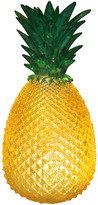 House Of Disaster House of disaster - Yellow Cut Glass Effect Retro Pineapple Lamp - yellow | UK Plug - Yellow/Yellow