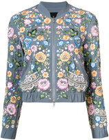 Needle & Thread floral bomber jacket - women - Polyester - 4