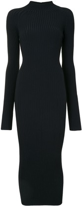 Dion Lee Ribbed Twisted Back Dress