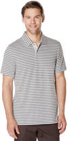 Perry Ellis Short Sleeve Horizontal Stripe Polo