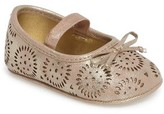 Jessica Simpson Infant Girl's Salsa Mary Jane Crib Shoe