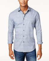 Vince Camuto Men's Textured Check Pocket Shirt