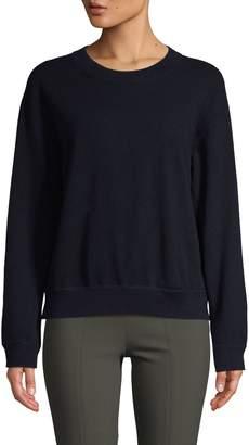 Vince Cashmere Boxy Sweatshirt