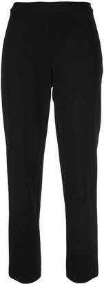 Josie Natori Slim Cropped Trousers