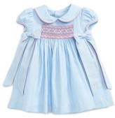 Luli & Me Infant Girl's Charlotte Smocked Dress