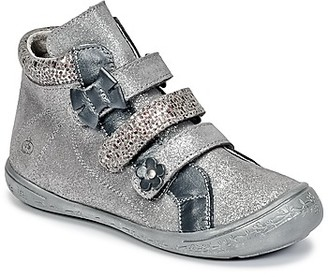 Citrouille et Compagnie FALIE girls's Shoes (High-top Trainers) in Silver