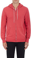 "Rag & Bone MEN'S ""STANDARD ISSUE\"" COTTON HOODIE-RED SIZE S"
