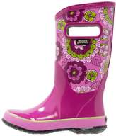 Bogs PANSIES Wellies berry/multicolor