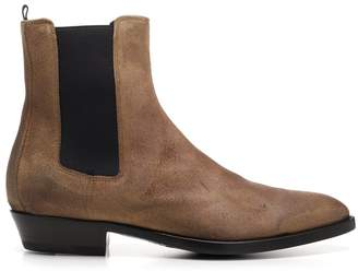 Buttero Elastic Panelled Ankle Boots