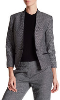Nine West Woven One Button Jacket