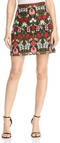 Lucy Paris Marina Embroidered Skirt