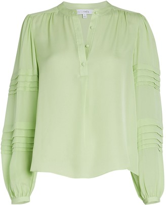 Intermix Clarissa Silk Blouse