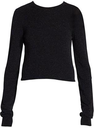 Acne Studios Lurex Knit Sweater