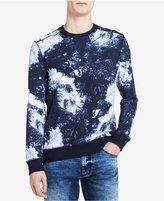 Calvin Klein Jeans Men's Palm-Print Sweatshirt