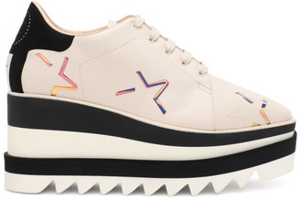 Stella McCartney Off-White Sneak-Elyse Star Oxfords