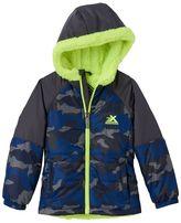 ZeroXposur Boys 4-7 Transitional Camouflage Jacket