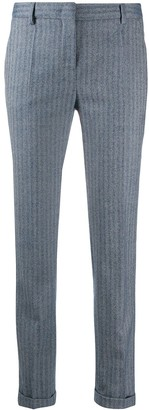 Incotex Striped Tailored Trousers