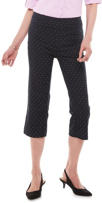 Croft & Barrow Women's Effortless Stretch Capris
