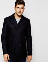 Tommy Hilfiger Peacoat In Navy