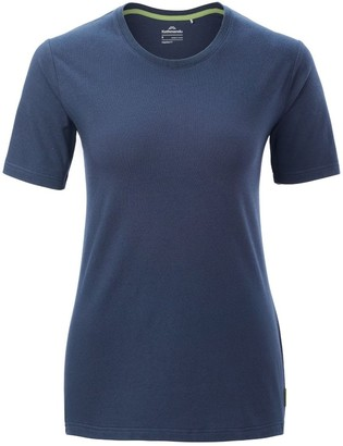 Kathmandu Solid Womens Short Sleeve Crew T-Shirt