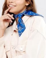 Monki Bandana Choker Necklace