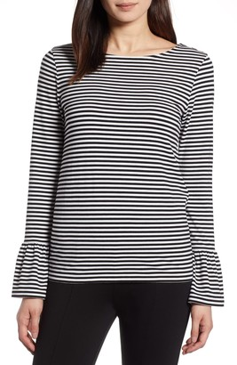 Halogen Bell Sleeve Knit Top (Regular & Petite)