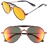 Givenchy Men's '7012/s' 56Mm Sunglasses - Palladium