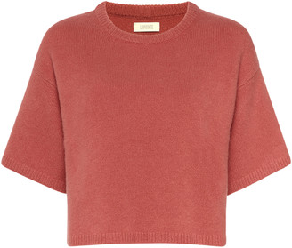 Sally LaPointe Cashmere-Silk T-Shirt