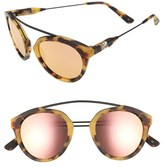 Westward Leaning Olivia Palermo x 'Flower' Mirrored Sunglasses