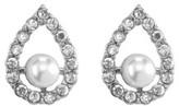 Samantha Wills Velvet Ocean Teardrop Pearl Stud Earrings