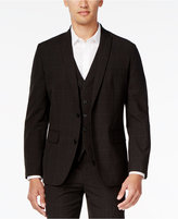 INC International Concepts Men's Windowpane-Check Suit Jacket, Only at Macy's