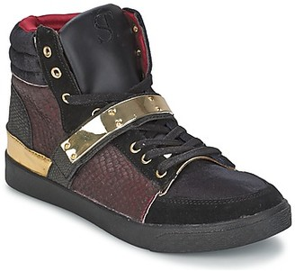 Supertrash GOLDY women's Shoes (High-top Trainers) in Red