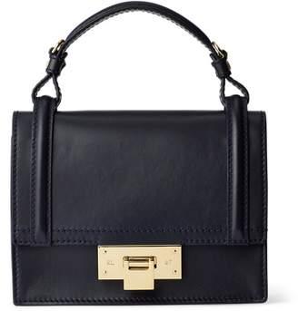 Ralph Lauren Calfskin Mini Hinge-Lock Bag