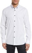 Ted Baker Men's Arkells Modern Slim Fit Print Sport Shirt